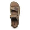 Czarno-granatowe skórzane sandały męskie weinbrenner, brązowy, 866-4643 - 17