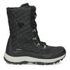 Pikowane zimowe śniegowce damskie bata, czarny, 599-6623 - 19