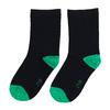 Długie zielone skarpetki dziecięce bata, zielony, 919-7686 - 26