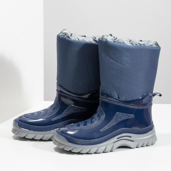 Granatowe śniegowce mini-b, niebieski, 392-9301 - 16