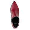 Czerwone botki typu chelsea bata, czerwony, 794-5609 - 17