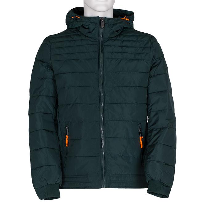 Zielona pikowana kurtka męska bata, zielony, 979-7430 - 13