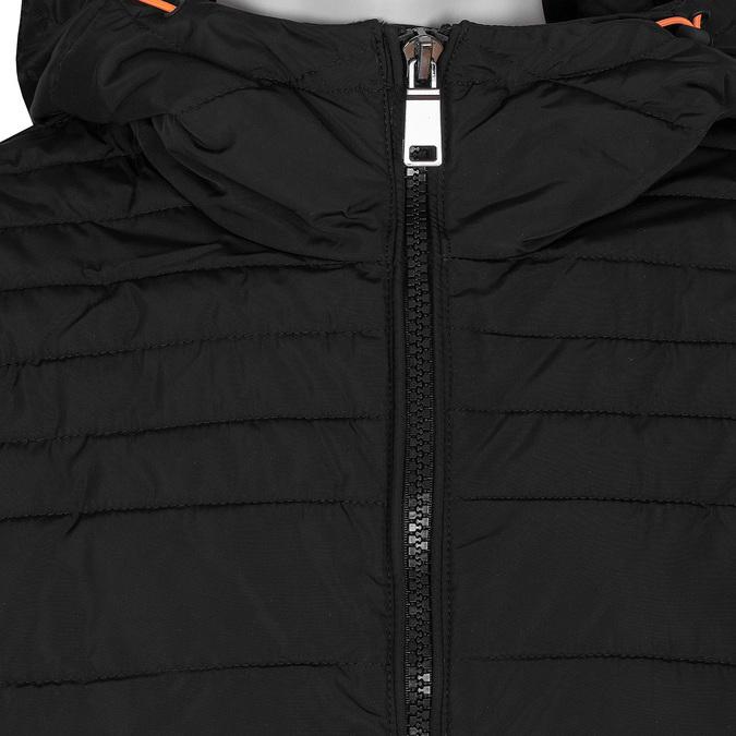 Czarna pikowana kurtka męska bata, czarny, 979-6430 - 16