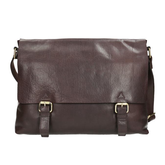 Skórzana torba męska bata, brązowy, 964-4235 - 17