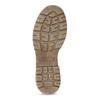 Jasnobrązowe skórzane obuwie damskie weinbrenner, brązowy, 596-3758 - 18