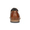 Brązowe skórzane półbuty męskie bata, brązowy, 826-3615 - 15