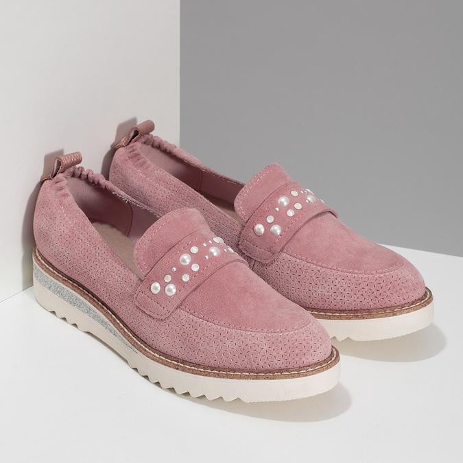 5335605 bata, różowy, 533-5605 - 26