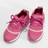 Różowe dzianinowe trampki dziewczęce, różowy, 329-5650 - 16