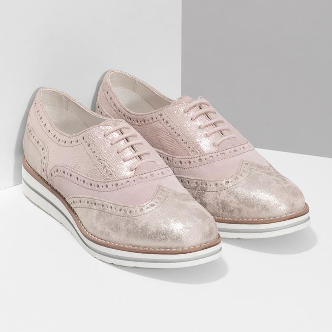 5465620 bata, różowy, 546-5620 - 26