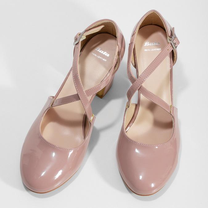 7215663 bata, różowy, 721-5663 - 16