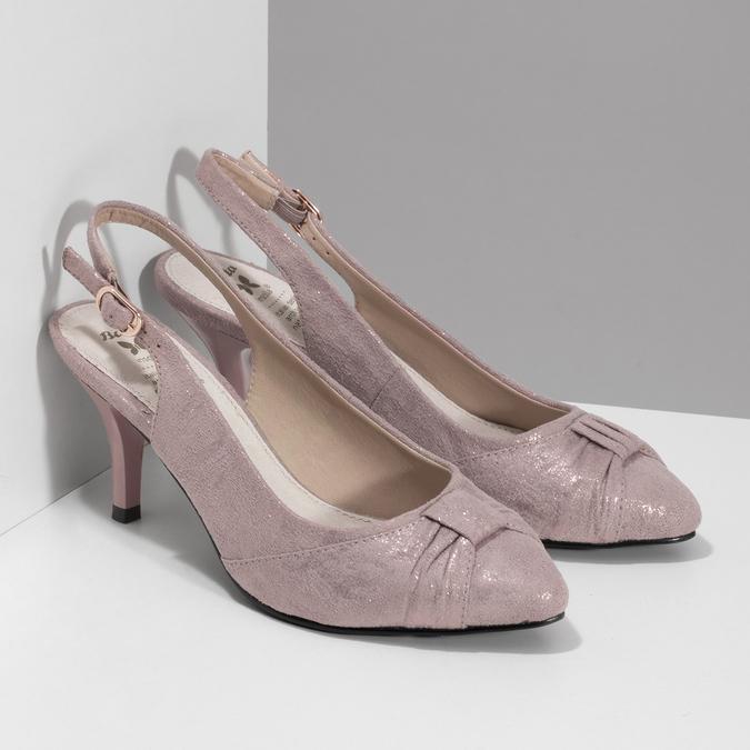 6295655 bata, różowy, 629-5655 - 26