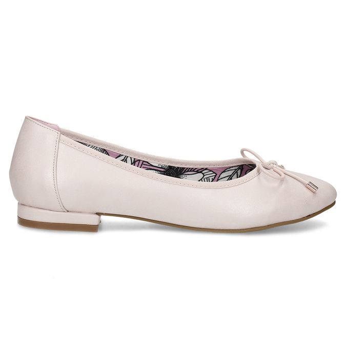 5218650 bata, różowy, 521-8650 - 19