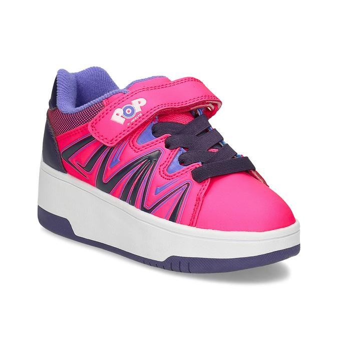 Różowe butorolki dziecięce pop-by-heelys, różowy, 321-5411 - 13