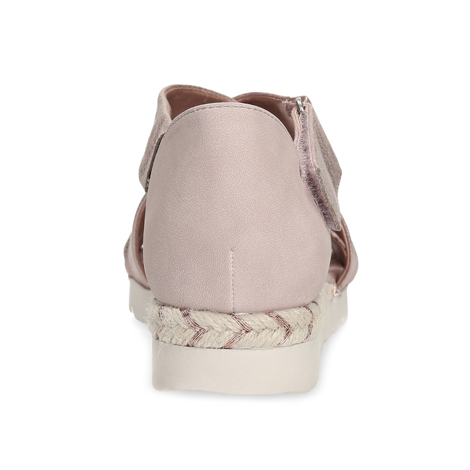 5615606 bata, różowy, 561-5606 - 15