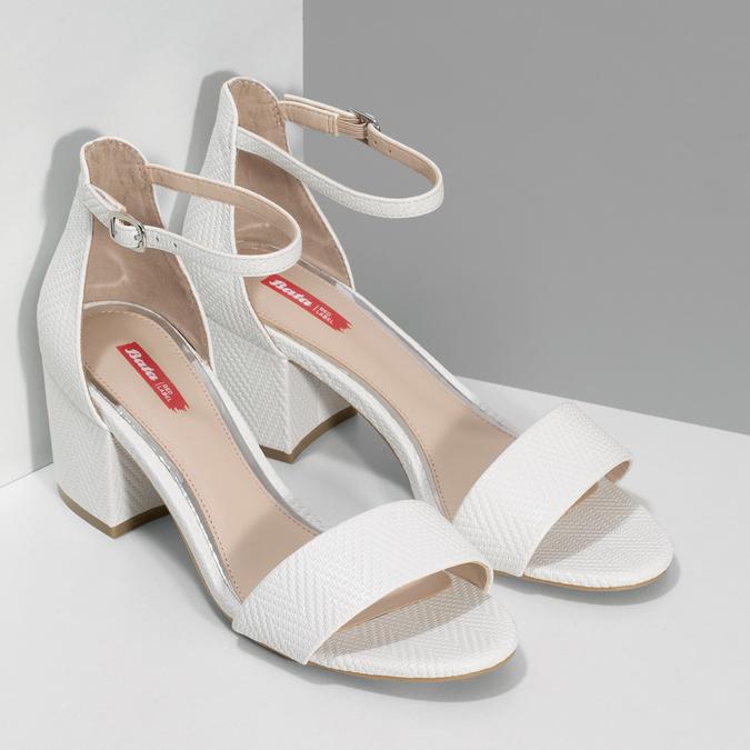6611628 bata-red-label, biały, 661-1628 - 26