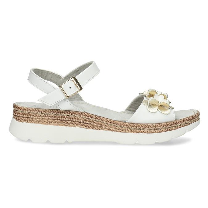 6641601 bata, biały, 664-1601 - 19