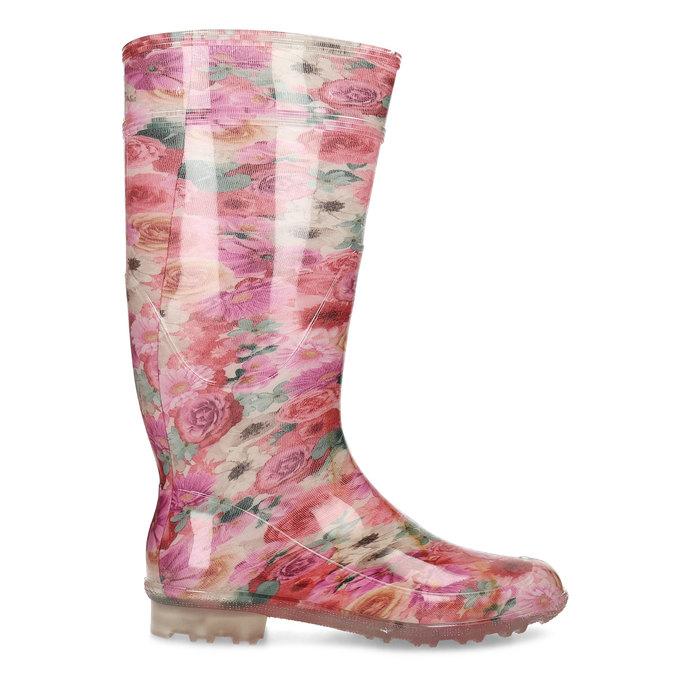 5920621 bata, różowy, 592-0621 - 19