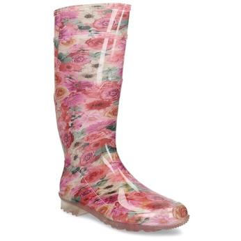 5920621 bata, różowy, 592-0621 - 13