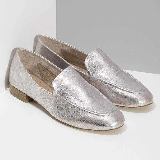 5185605 bata, srebrny, 518-5605 - 26