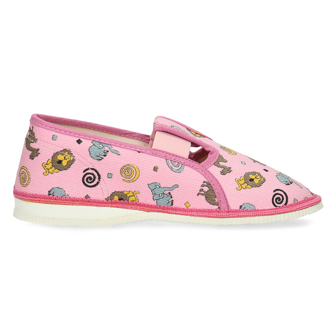 3795616 bata, różowy, 379-5616 - 19