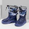 Granatowe śniegowce wdeseń moro mini-b, niebieski, 292-9301 - 16
