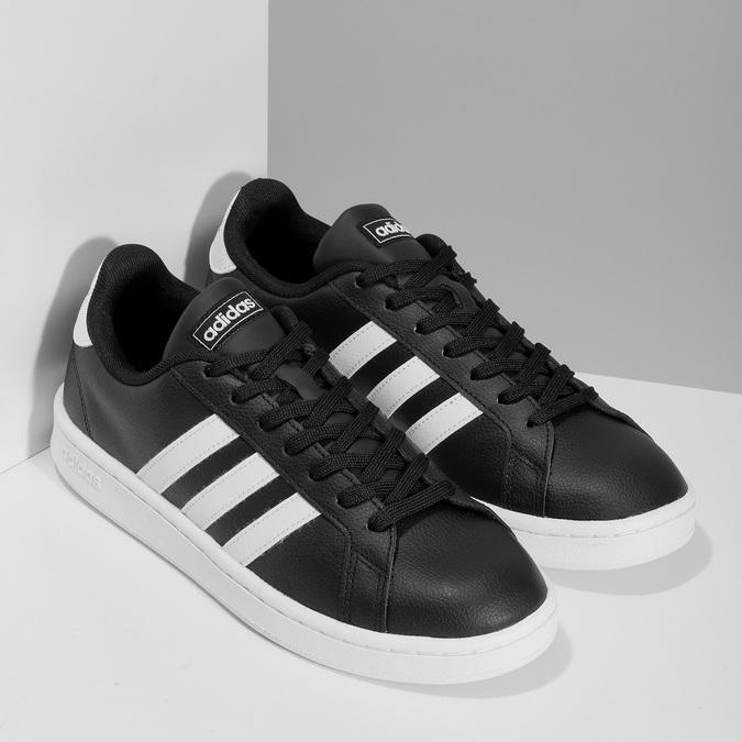 8016561 adidas, czarny, 801-6561 - 26