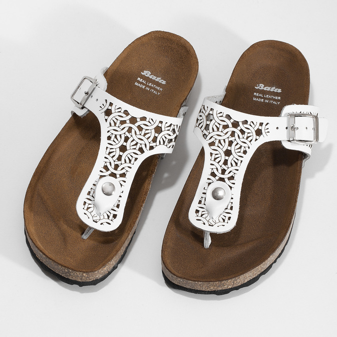 5611602 bata, biały, 561-1602 - 16