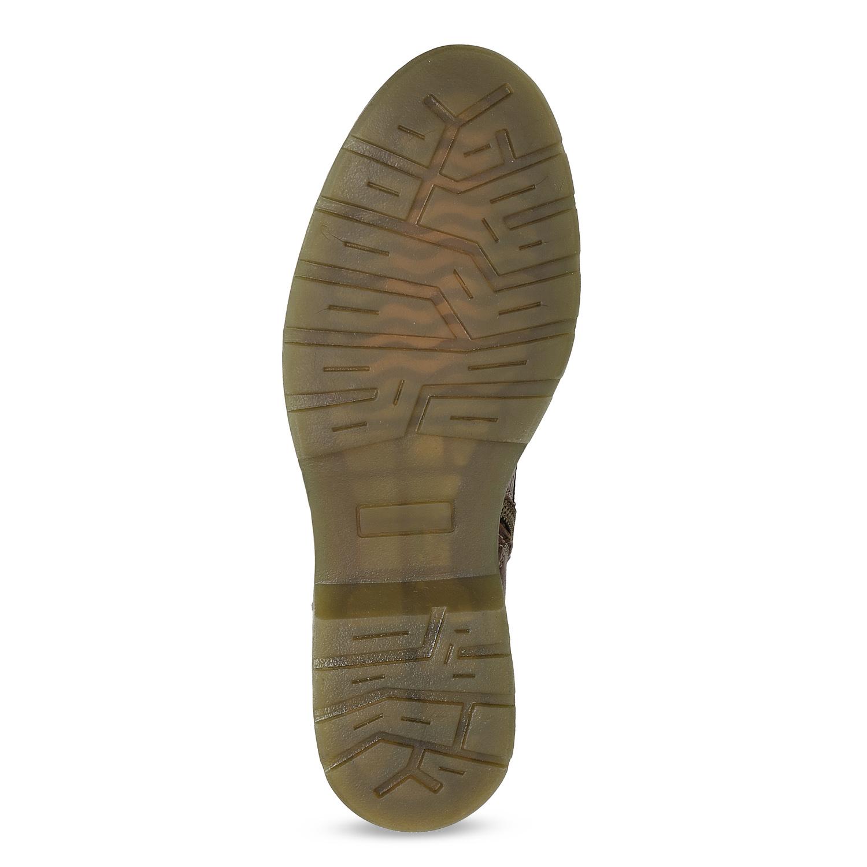6953e832182bd ... Brązowe skórzane botki damskie bata, brązowy, 596-4732 - 18